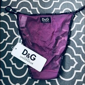 Used, D&G by Dolce & Gabbana G-String underwearNWT for sale